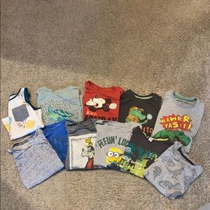 Size 4t and 5t toddler screen tee bundles of 11
